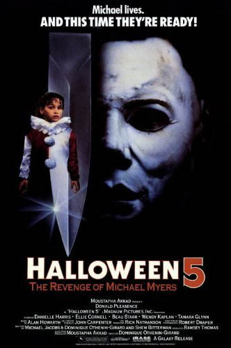 Halloween 5: The Revenge Of Michael Myers: Movie Posters