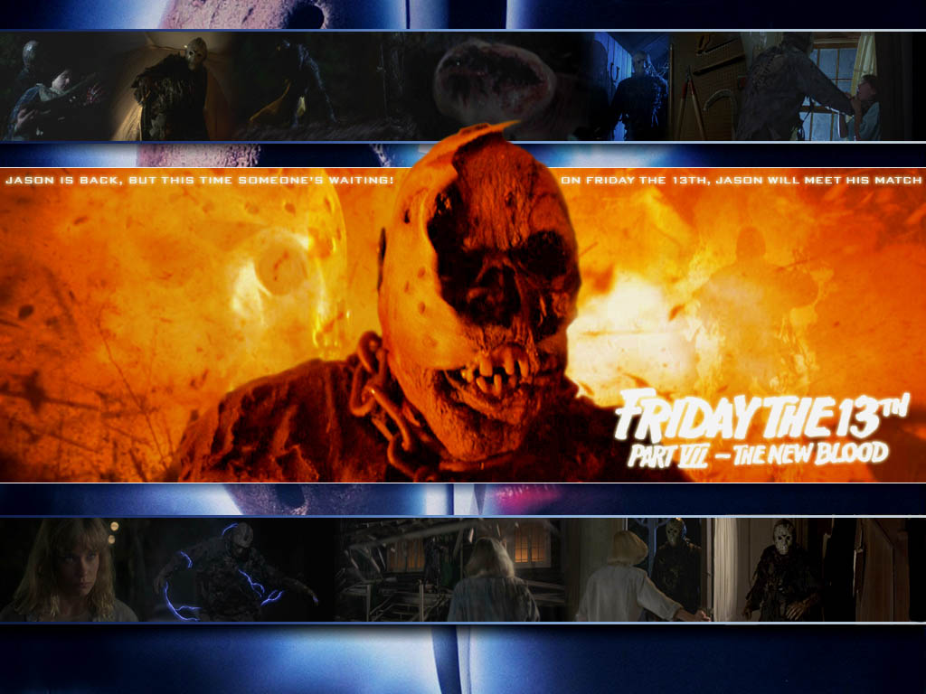 friday the 13th part vii the new blood wallpapers